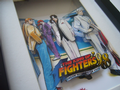 Neo Geo King of Fighters 98 - 3D Art  Shadow Box